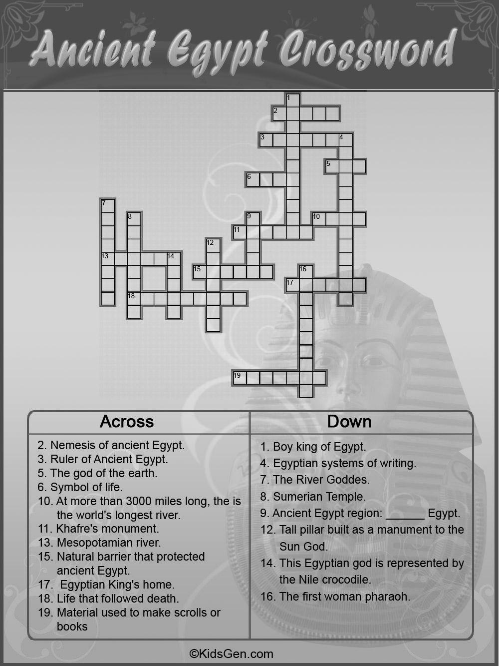 Egyptian symbols crossword puzzle sacred egyptian bird crossword download images photos biocorpaavc