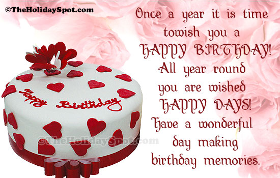 Quotes of Birthday