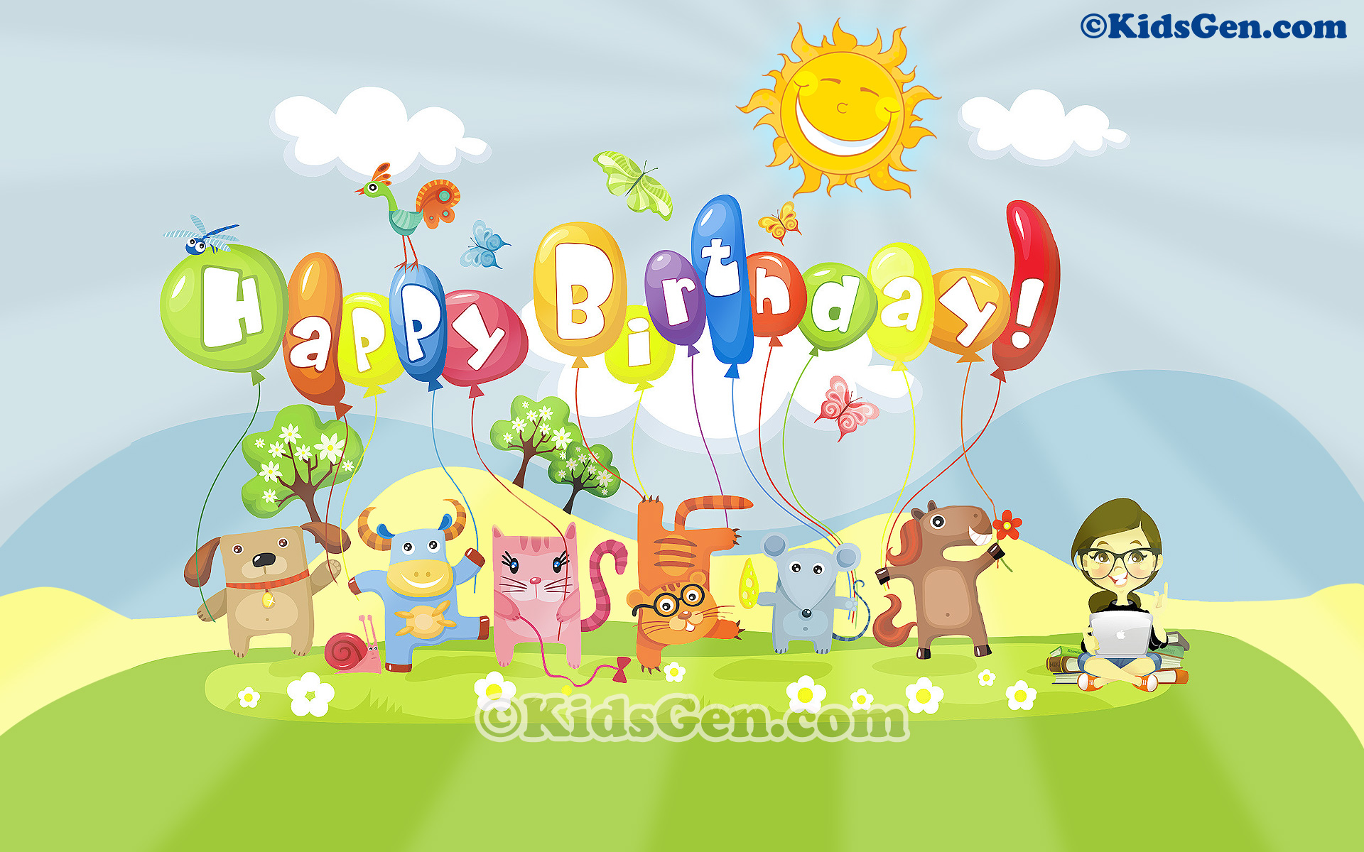 Birthday Wallpapers For Kids
