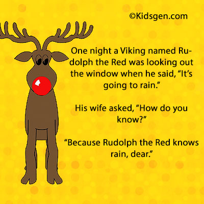 Christmas Jokes On Rudolf