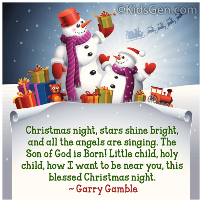 Christmas Quote By Garry Gamble