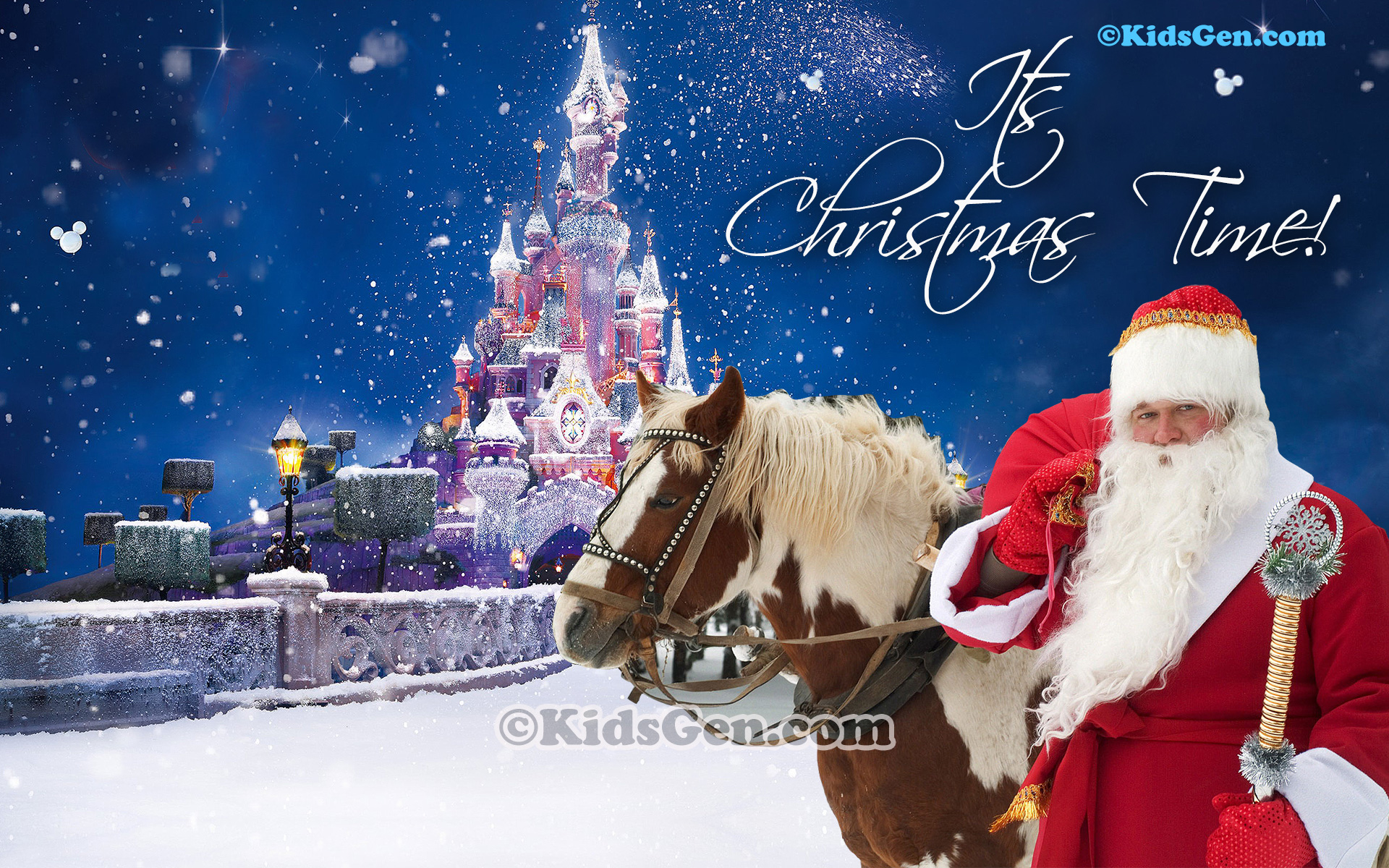 cute christmas wallpapers for kids