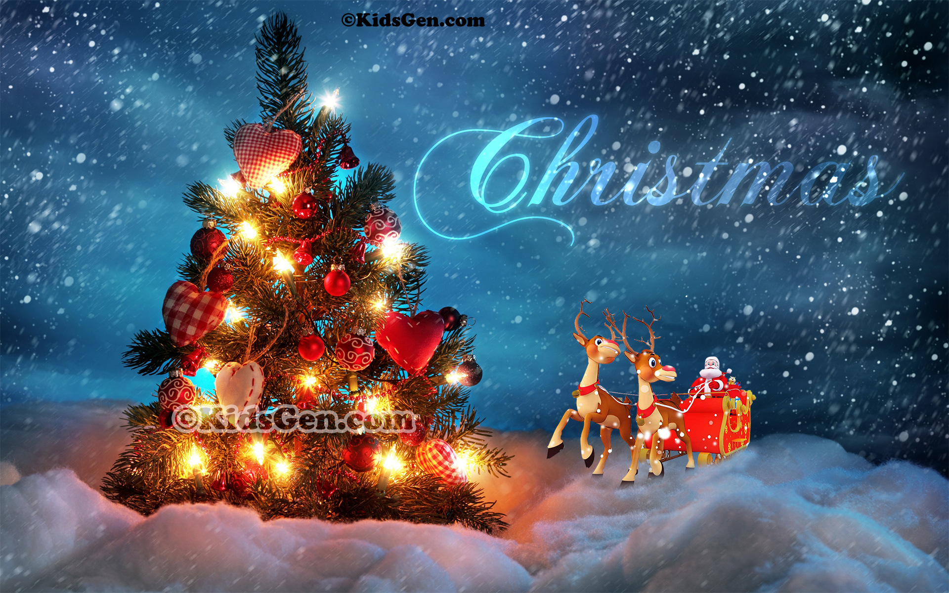 Hd Christmas Wallpaper.Cute Christmas Wallpapers For Kids Christmas Wallpaper For