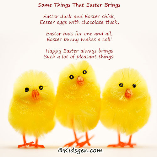easter poems for kids - photo #16