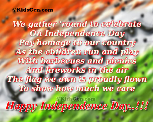 indian independence day speech in hindi for children Patriotic songs in hindi for independence day are created with such high reverence for mother nation songs for independence day in hindi can take you away.