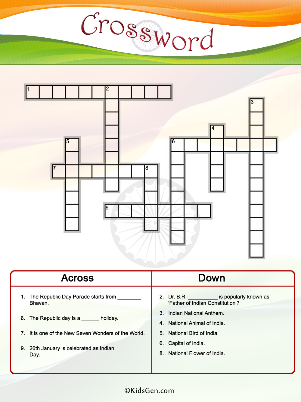 ... worksheets for kids color crossword puzzles australian animals