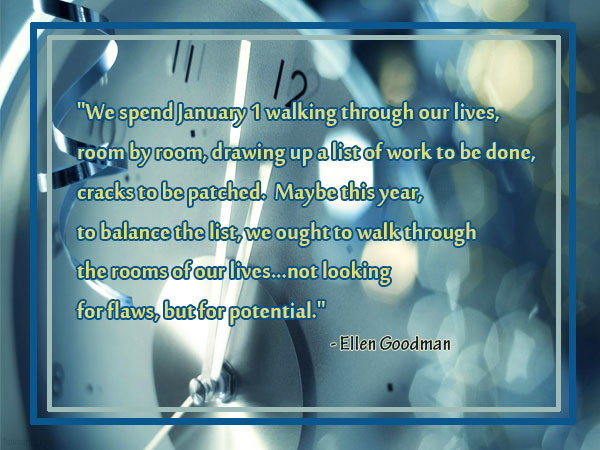 new year quote by ellen goodman