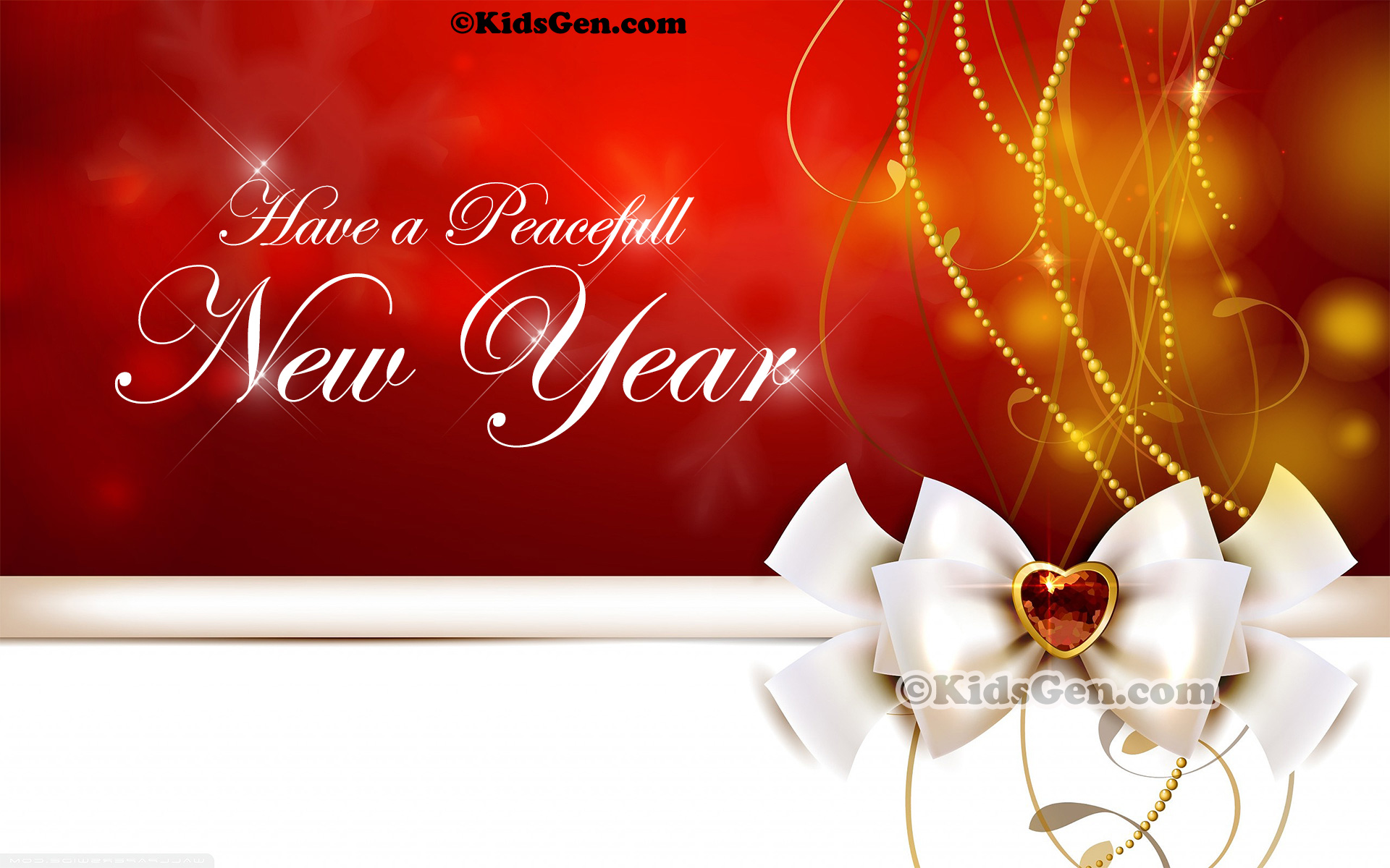 an exquisite high resolution new year wish wallpaper