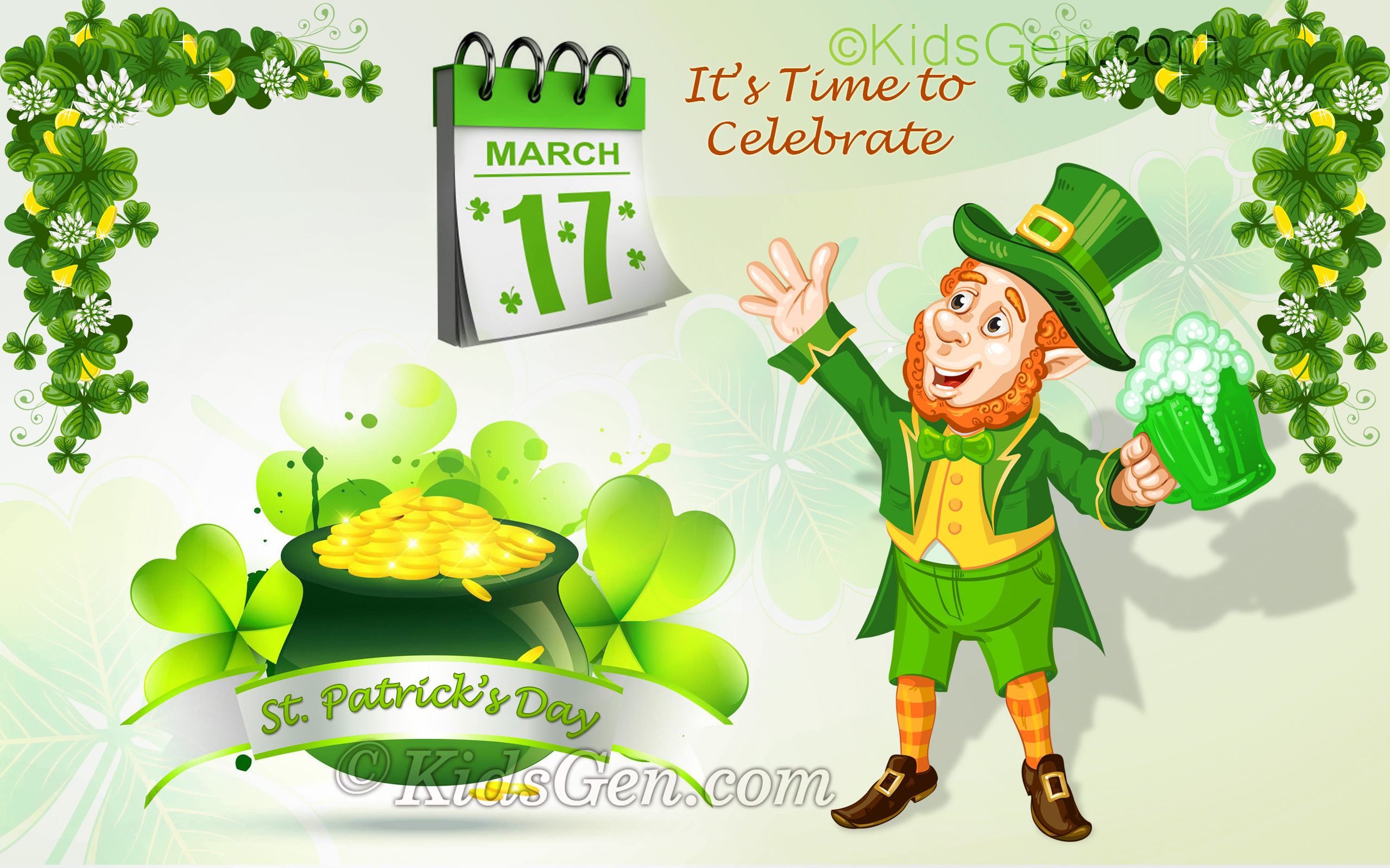 St Patrick S Day Wallpapers For Widescreen Desktop