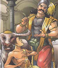 Nachiketa and Lord Yama