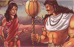 Bhima and Hidimba
