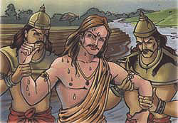 Nanda arrested by Varuna's attendents