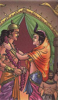 King Satyapal marrying princess of Bhil
