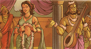 Narada and Shrimati