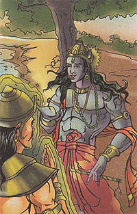 Lord Krishna and king Nriga
