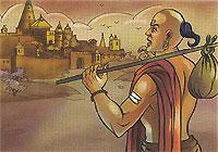 Sudama goes to Krishna