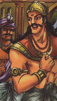 Duryodhana and his Lac palace