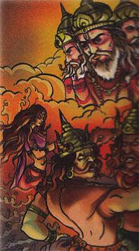 Tilottama-Demon Sunda-Demon Upasunda-lord Brahma-Lord Vishwakarma