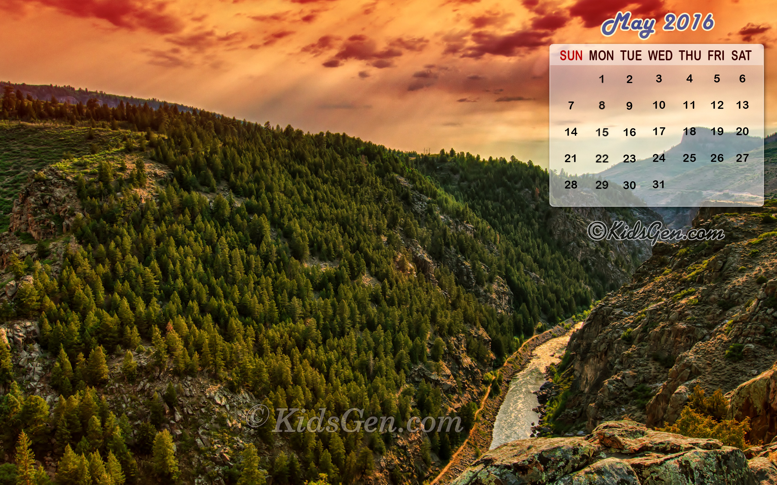 Calendar Wallpaper May : Month wise calender wallpapers