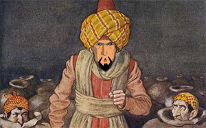 Story Ali Baba And Forty Thieves