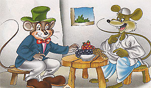 The city rat and the village rat
