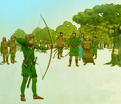 Robin Hood competing