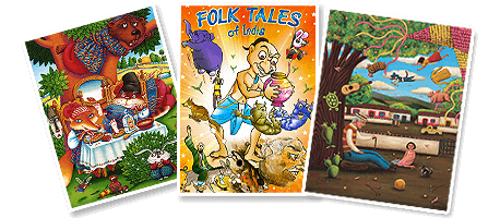 Famous Folktales with Morals | Indian Folktales in English