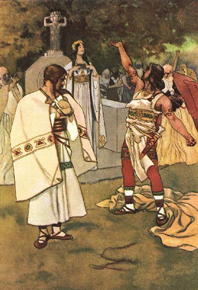 The Decision of Libuscha - Greek Mythology