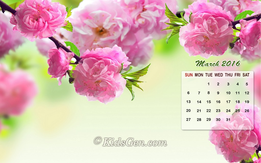 March Calendar Backgrounds