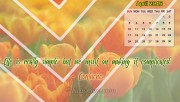 April Calendar Wallpaper …