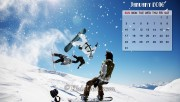 January Calendar Wallpape…