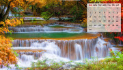 September Calendar Wallpa…