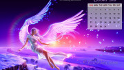 October Calendar Wallpape…